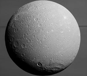 Saturns ismåne Dione