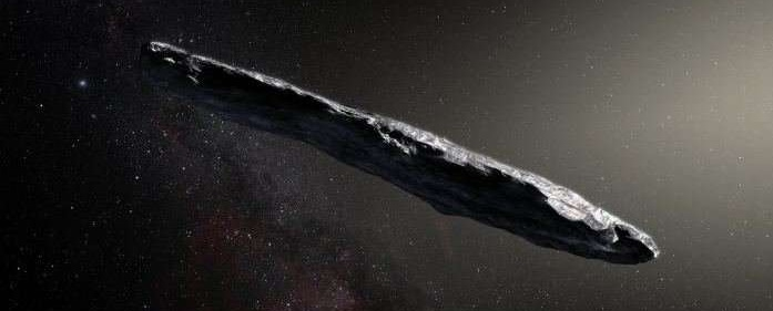 Den interstellare asteroide Oumuamua