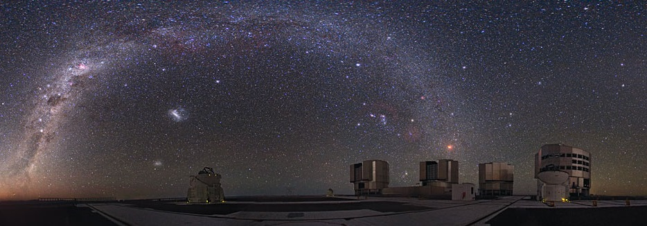 ESO's VLT array i Paranal
