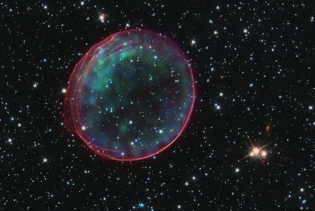 supernova remaint SNR B0509-67.5