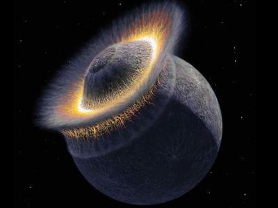 Månens dannelse