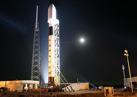 SpaceX Falcon9 raket