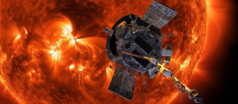 Parker solsonden sender sine første data tilbage til Jorden