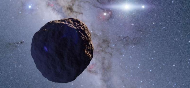 En mindre Edgeworth-Kuiper Belt Object (KBO) asteroide