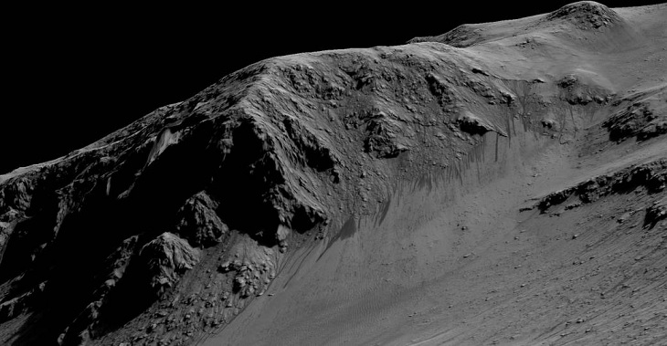 Flydende vand på Mars