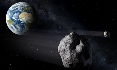 Near Earth Orbit (NEO) asteroide
