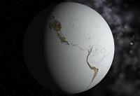 Jorden som den kan have set ud under densidste