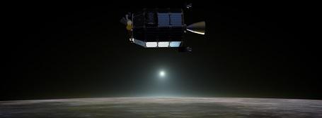 LADEE i lavt kredsløb over Månen