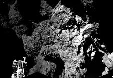 Philea sonden på komet 67P's overfalde