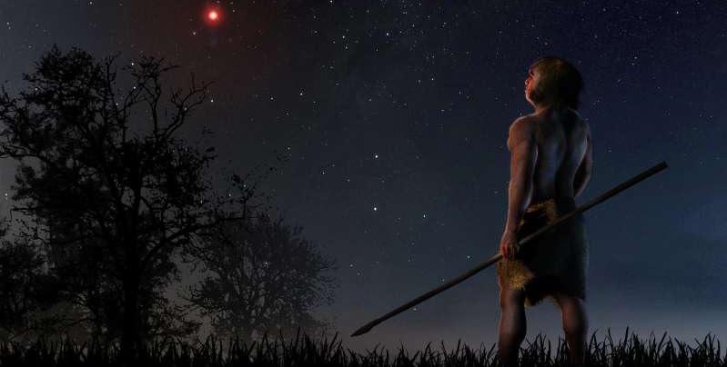 Stjerne passerede Solsystemt for 70.000år siden