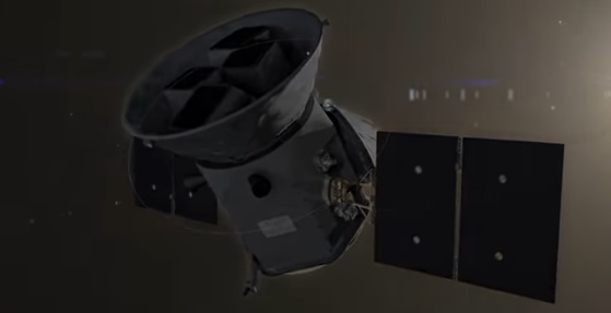 TESS rumteleskopet ( Transiting Exoplanet Survey Satellite)